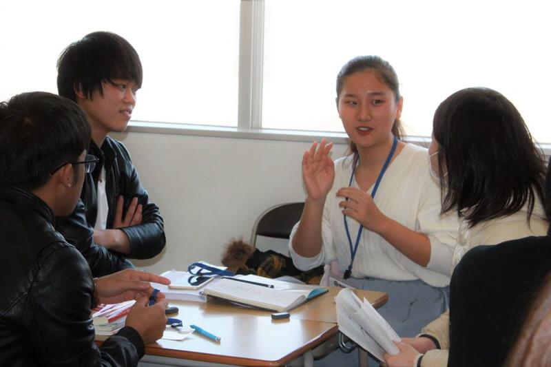 Giao lưu với học sinh trung học Nhật Bản (Phân hiệu Nagano)