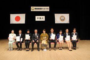 卒業式(長野校)