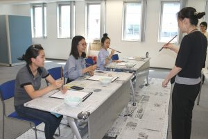 Summer Short Program Calligraphy class