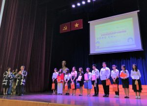 Ho Chi Minh City University of Foreign Language and Information Technology(HUFLIT) Speech contest