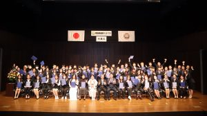 Graduation Ceremony (Nagano Campus)